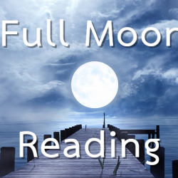 Full Moon Reading button