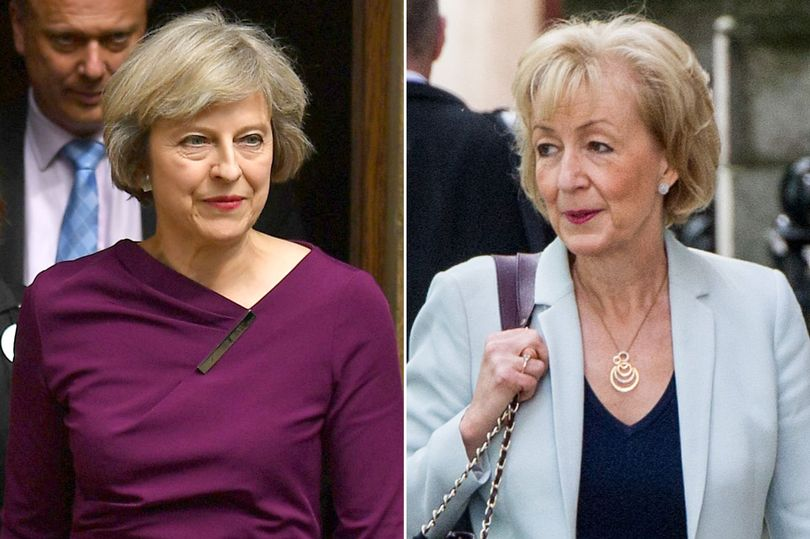 Theresa May's Transits as Andrea Leadsom Resigns