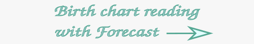 birth chart reading with forecast